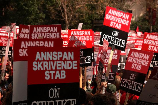 Annstab-streik